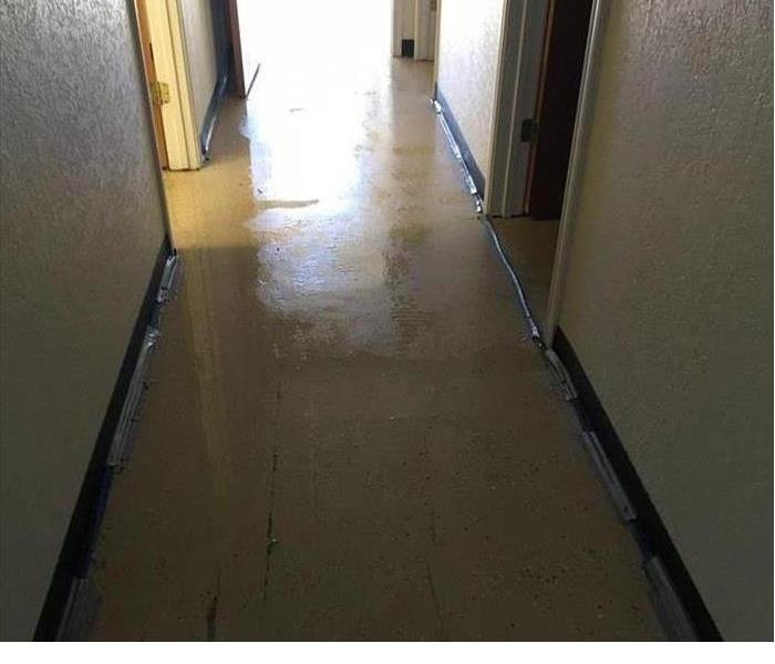 Commercial Water Loss in Mobile, AL Before