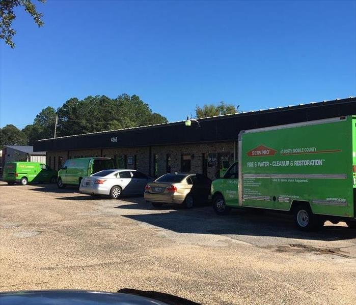 Water Damage Magic of SERVPRO in Mobile, AL
